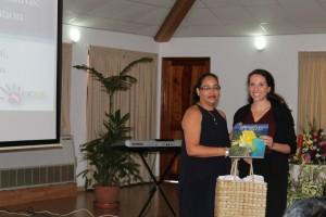 Dr Naudeau's visit to Seychelles
