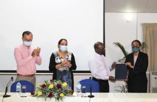 Signing Ceremony: The Establishment of IECD as a Category 2 Centre for ECCE