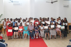 2nd Cohort of Childminders receive their certificates